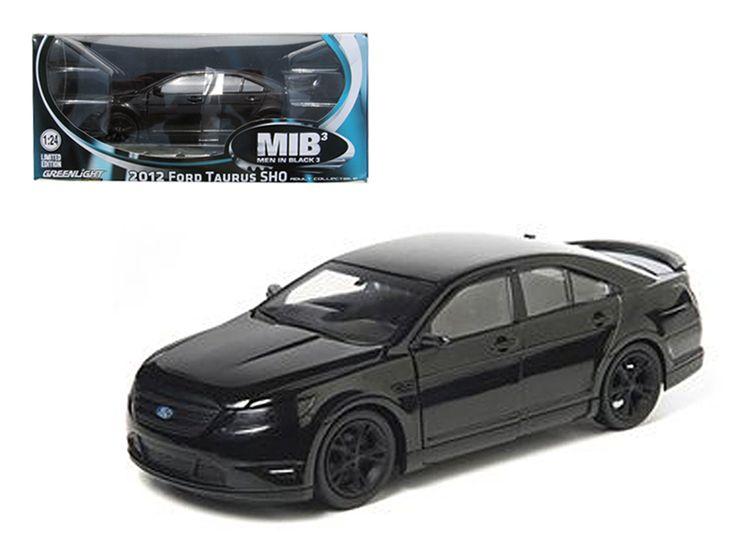 "2012 Ford Taurus SHO Men in Black 3"" Modern Agent Car 1/24 Diecast Model Car by Greenlight"""