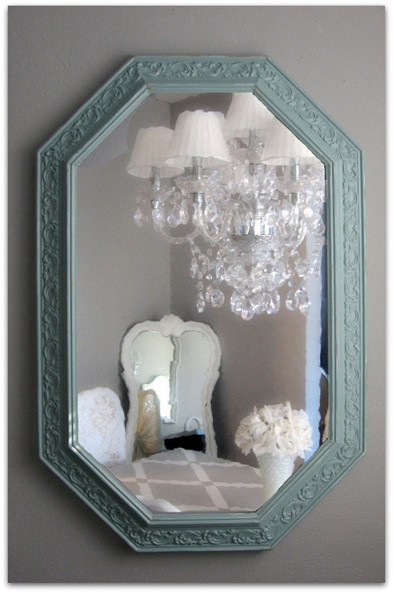 25 best painted mirror frames ideas on pinterest
