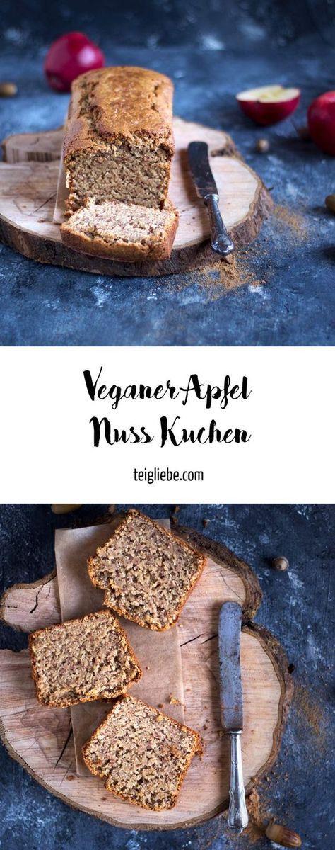 Veganer Apfel-Nuss-Kuchen – Feiern wir den ersten Advent