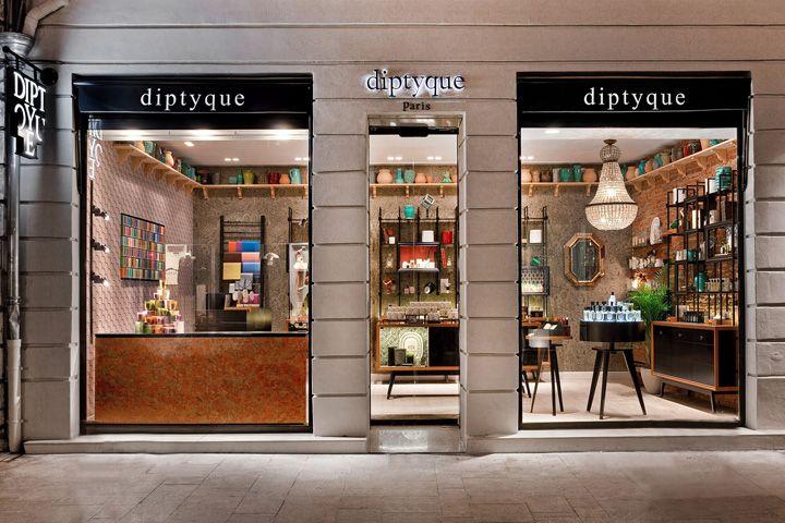 diptyque ville rose boutique by centdegrés & diptyque, Toulouse – France » Retail Design Blog