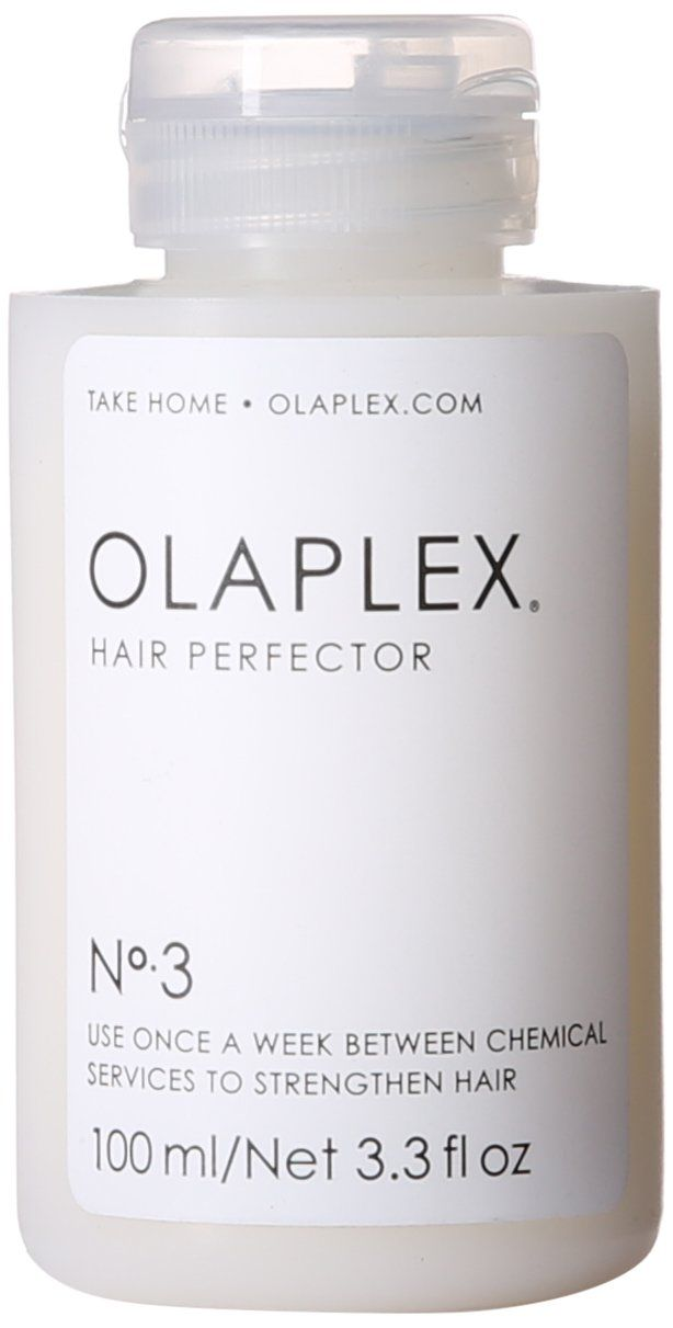 Olaplex Hair Perfector No 3 - strengthens and repairs hair between chemical treatments.