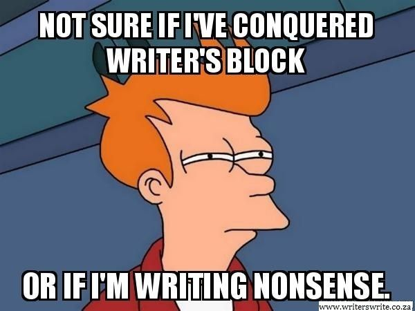Writer's block to the extreme, what on earth do I DO?!?