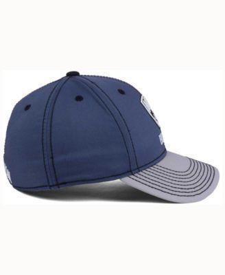 adidas Brooklyn Nets Volcano Ash Flex Cap - Gray L/XL