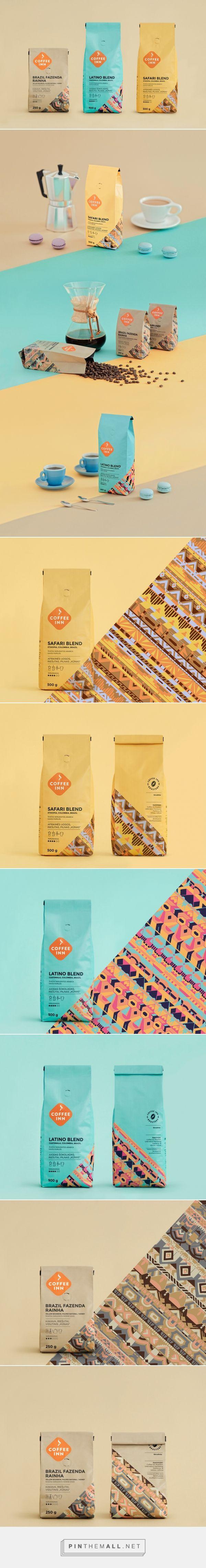 Coffee Inn Brand Packaging by Irmantas Savulionis on Behance | Fivestar Branding – Design and Branding Agency & Inspiration Gallery