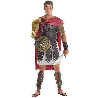 Mens gladiator #costume #adult roman spartan warrior centurion #fancy dress outfi, View more on the LINK: http://www.zeppy.io/product/gb/2/282168954361/