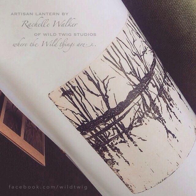 "Noggin on Instagram: ""Luminosity Paper Lantern... by Rachelle Walker of Wild Twig Studios... where the Wild things are... . Artwork by Rachelle Walker of Wild…"""