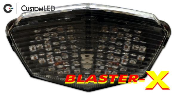 Kawasaki Ninja 250R Blaster-X Integrated LED Tail Light by Custom LED!  Brightest in the World!  Made in the USA.