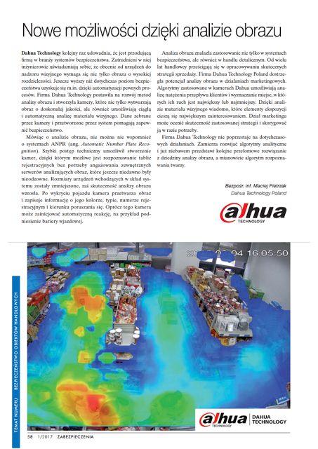 BISPRO24: Nowości technologiczne od Dahua-kamery analizujące...