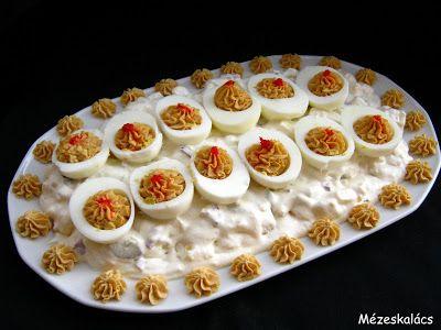 Mézeskalács konyha: Kaszinótojás krumplisalátával