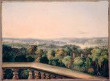 View from Craigend looking over Government House and Domain, 1845 / oil painting by George Edwards Peacock. Craigend was built by Sir Thomas Mitchell in the early 1830s on the highest point of Darlinghurst on, according to Mitchell, `the most picturesque hill in Sydney'. http://www.acmssearch.sl.nsw.gov.au/search/itemDetailPaged.cgi?itemID=421181 From the collection of the State Library of New South Wales http://www.sl.nsw.gov.au