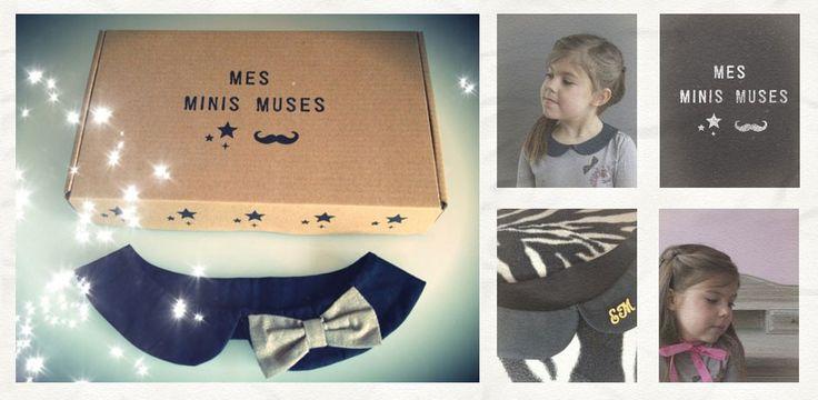 Création de cols claudine pour bébés et enfants - Mes Minis Muses