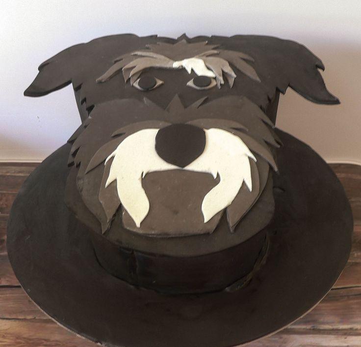 Schnauzer Cake by Cake Corner Hobart