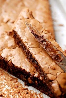 Le plus chocolat des brownies croquants