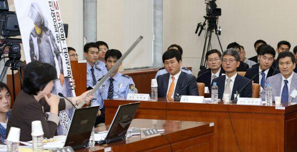 창조컨설팅, '용력 폭력' SJM과 차명으로 계약 맺었다 | Daum 미디어다음