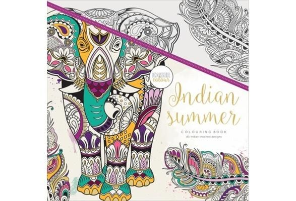 Indian Summer Coloring Book Coloring Books Coloring Pages Adult Coloring Books
