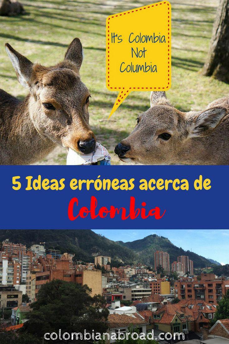 Existen varias ideas erróneas acerca de Colombia. Estas son las 5 más comunes. Compártelas para que todo el mundo se entere de lo que sí es Colombia.