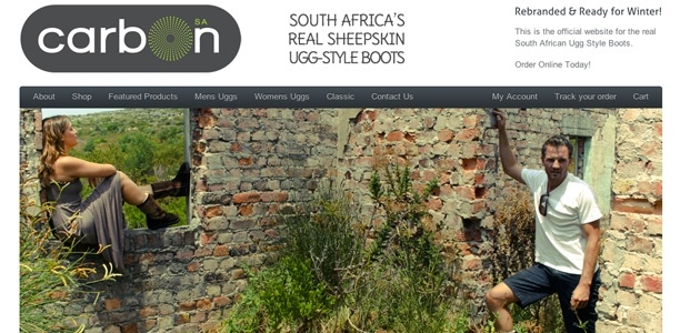 Shoot I did for http://carbonsouthafrica.co.za/