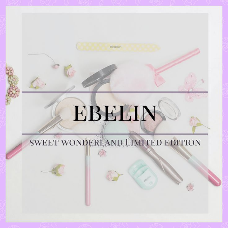 ebelin sweet wonderland limited edition 2017 pinsel