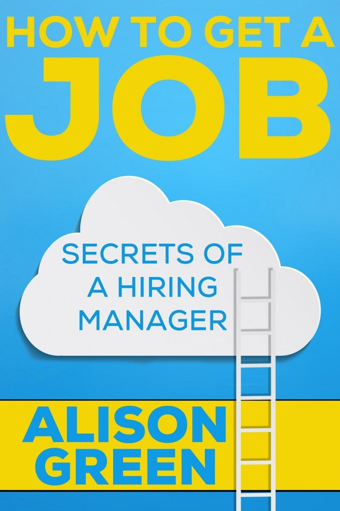 here's an example of a great cover letter |  by ALISON GREEN