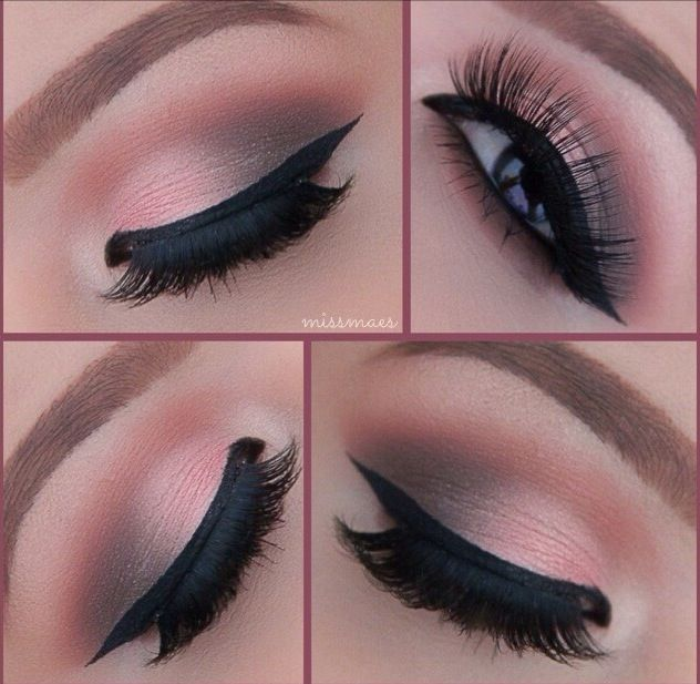 Love the eye makeup...so pretty!