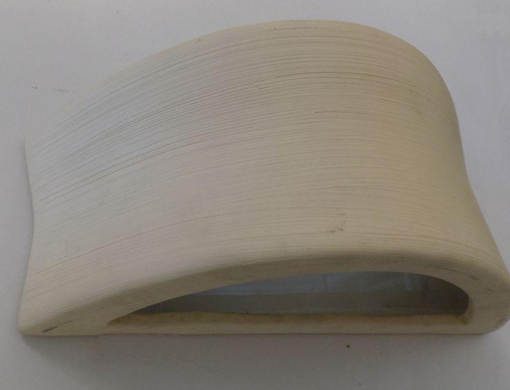 Arandela Externa Ceramica Bege