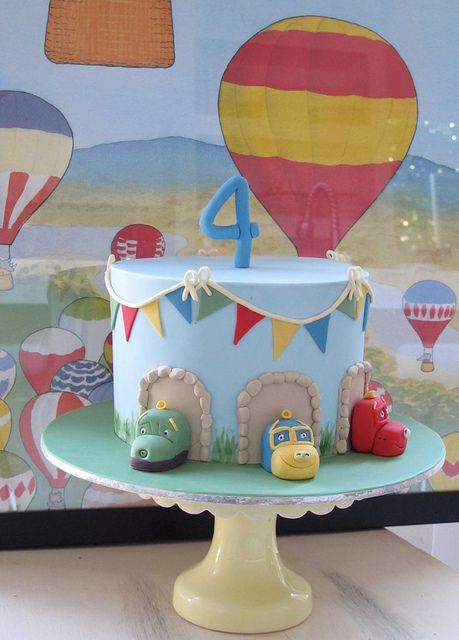 Chuggington Cake | Flickr - Photo Sharing!