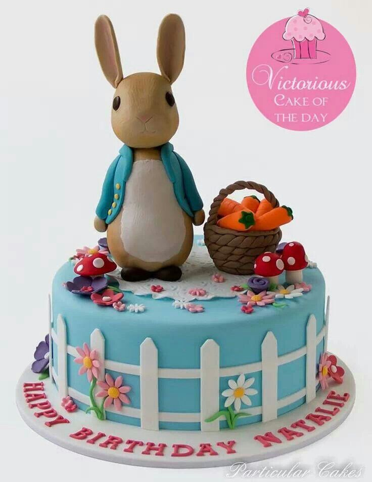 Bunny cake ! Easter's coming !