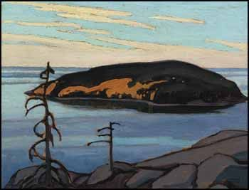 Lawren Stewart Harris, Island, Lake Superior circa 1921 ~ 1926