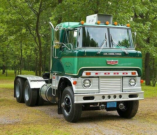 Ford H-Series cabover (COE) tractor