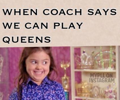 volleyball humor/ queens