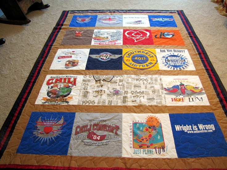 Another Southwest Airline Quilt