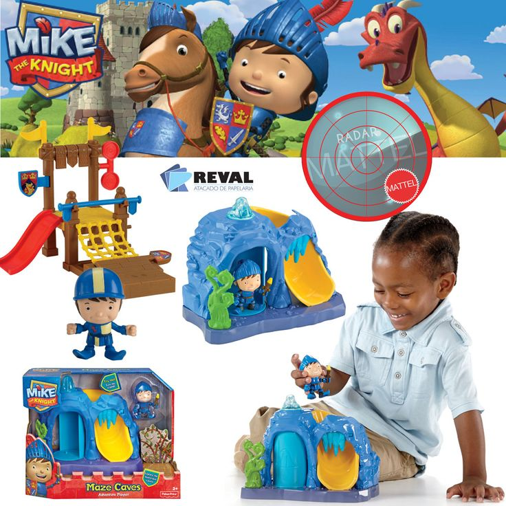 Conheça o Playset Básico de Mike The Knight! Peça pelo código Reval 54681 (ref. Mattel: BBY28) pelo 0800-701-1811 ou pelos representantes de vendas de sua região e ótimas vendas!  Os meninos vão ajudar o Mike em uma aventura pelo reino. É hora de ser um cavaleiro e fazer a coisa certa!  #Reval #Mattel #RadarMattel #MikeTheKnight #MTK #Knight #Playset #Cenário #Figure #Figure #Boneco #Brinquedo #Kids