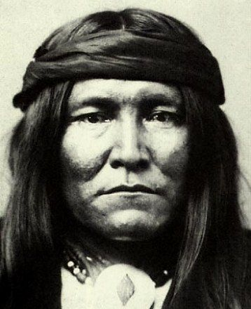 Mescalero Apache Chato (sometimes misidentified as Apache Chief Cochise) - one of Cochise's captains.