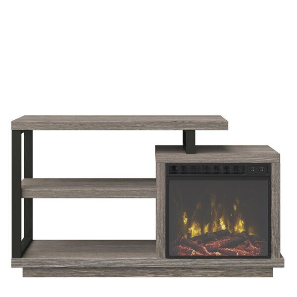 tv stand for fireplace insert on Louann Tv Stand For Tvs Up To 55 With Fireplace Fireplace Tv Stand Electric Fireplace Cool Tv Stands