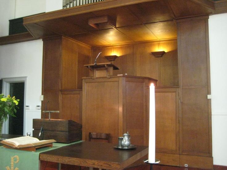 Regentessekerk in ApeldoornNederlandse Preekstoelen, Mijn Woonplaat, Woonplaat Apeldoorn, Nederlands Preekstoelen