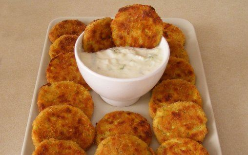 Retete Culinare - Chiftelute de dovlecei la cuptor