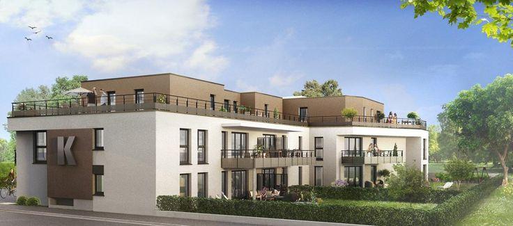 Appartements à Griesheim-sur-Souffel - Programme immobilier neuf de Trianon Residences
