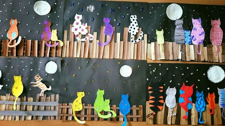 Kočky na plotě