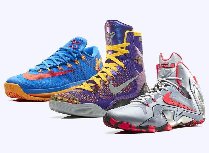 nike basketball elite lineup | Nike Basketball Elite Team Collection KD VI,  Kobe IX,