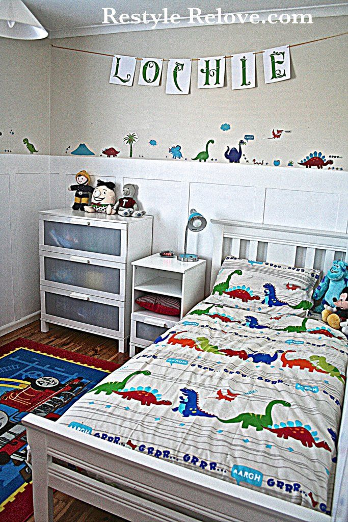 Little boys bedroom organized kids pinterest paint for 4 year old bedroom ideas