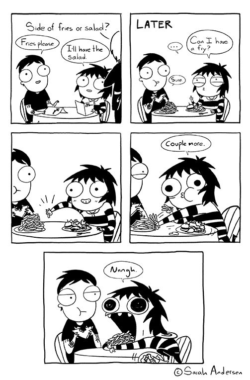 Tastefully Offensive on Tumblr, by Sarah Andersen