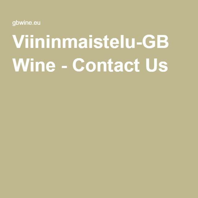 Viininmaistelu-GB Wine - Contact Us