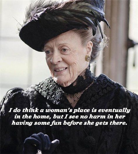dowager countess of grantham   Violet Crawley, Dowager Countess of Grantham   СПЛЕТНИК