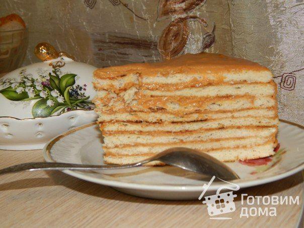 Торт на сковороде с заварным кремом - Рецепт с фото на Готовим дома