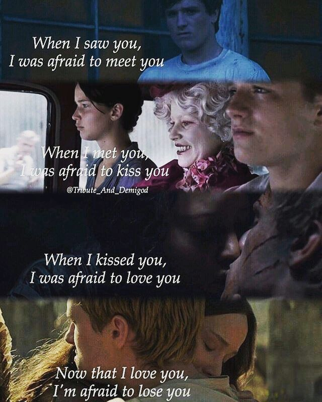 "107 Likes, 5 Comments - Katniss Peeta Mellark (@peeta_katniss_always_together) on Instagram: ""So true... I just love that #peeta #katniss #love"""