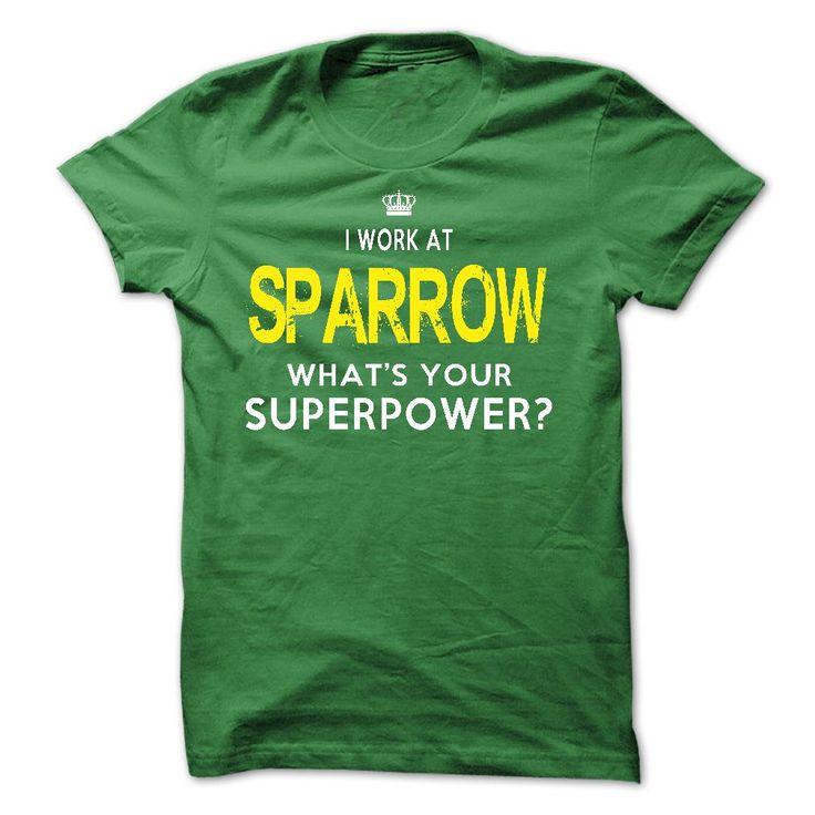 I Work At Sparrow Health System T Shirt, Hoodie, Sweatshirt