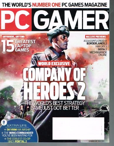 PC GAMER Magazine (July 2012) Company of Heroes « Library User Group i like wolfering.