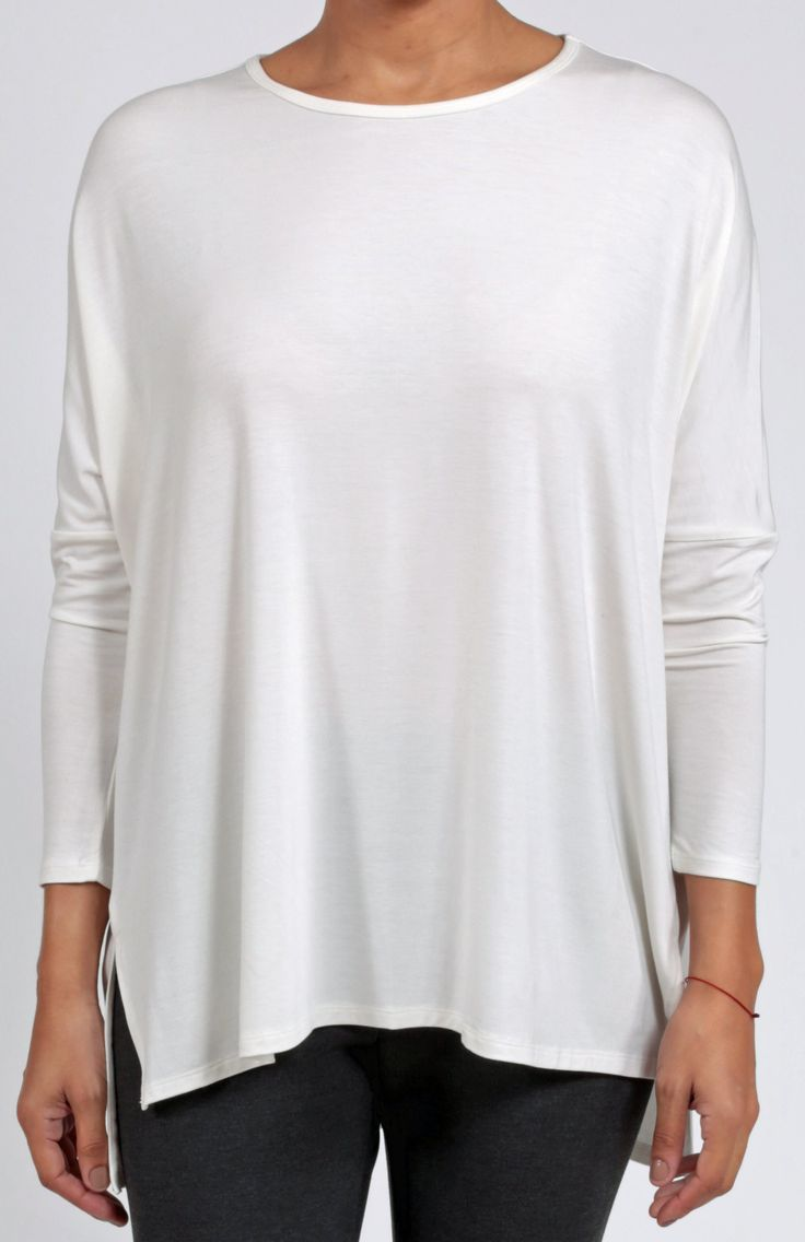 LUXE EASE TUNIC - Off White