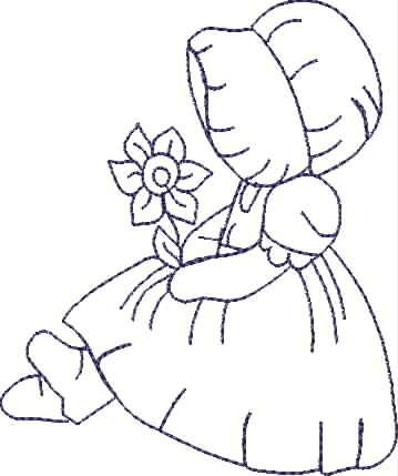 Sunbonnet Sue Embroidery pattern