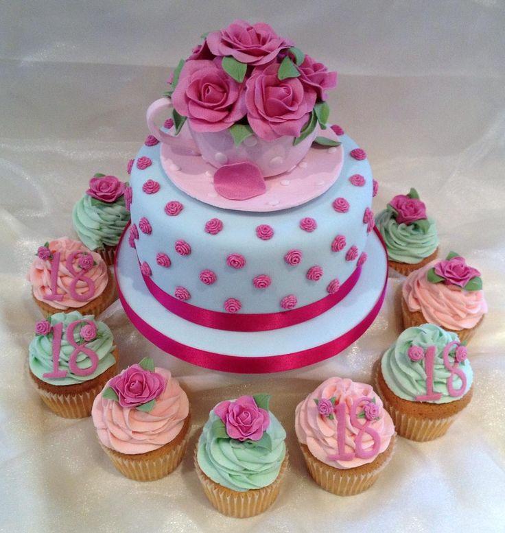 9 Best Teacup Cake Ideas Images On Pinterest